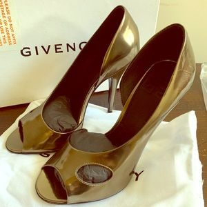 Brand new Givenchy Metallic Heels